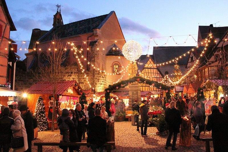 <span>Marché de Noël d'Eguisheim</span>